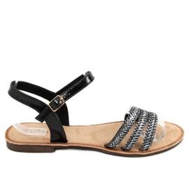 Sandałki damskie czarne N-70 Black