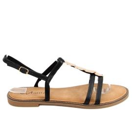 Sandałki damskie czarne N-101 Black