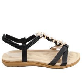 Sandałki damskie czarne CT-153 Black