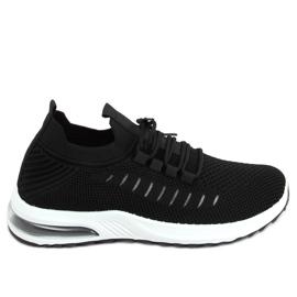 Buty sportowe skarpetkowe czarne JHY90820 Black