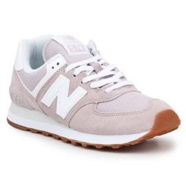 Buty New Balance W WL574PA2 różowe