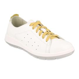 Befado półbuty obuwie damskie  156D010 białe