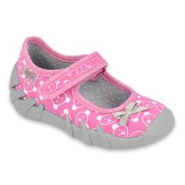 Befado obuwie dziecięce 109P221 różowe
