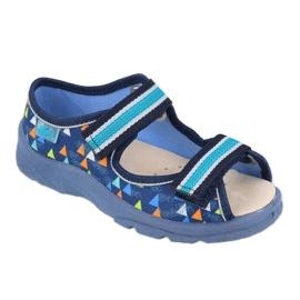 Befado obuwie dziecięce  869X164 niebieskie