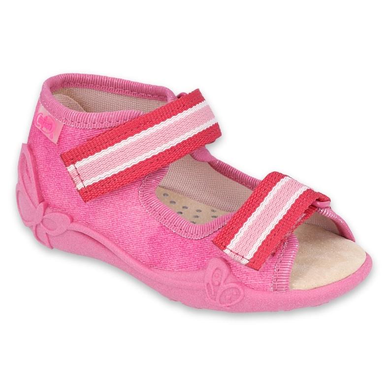 Befado obuwie dziecięce  342P036 różowe