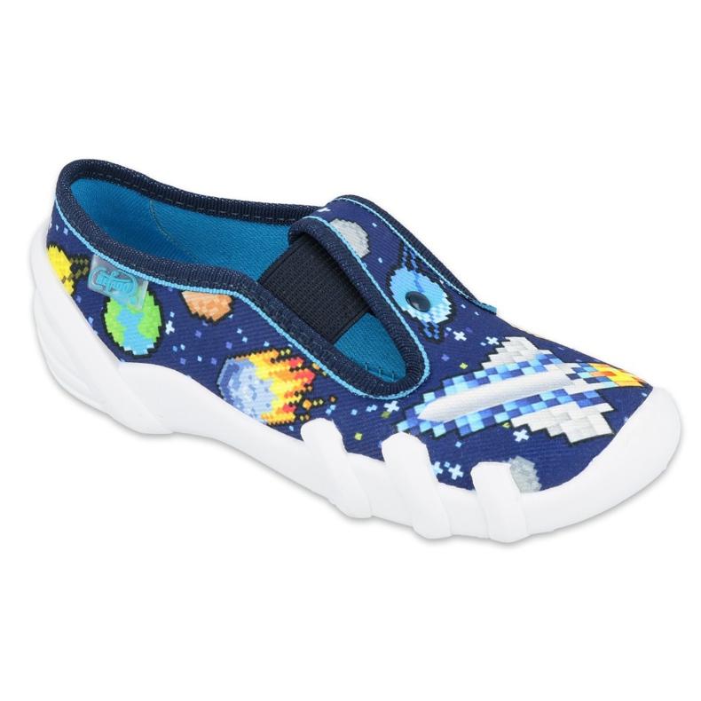 Befado obuwie dziecięce  290X228 granatowe niebieskie