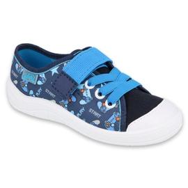 Befado obuwie dziecięce  251Y161 granatowe niebieskie