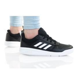 Adidas Buty Tensaur K Jr S24036 czarne fioletowe