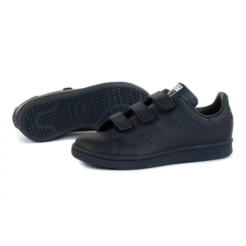 Buty adidas Stan Smith Cf C Jr FY0969 czarne pomarańczowe