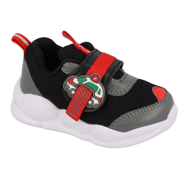 Befado obuwie dziecięce  516P096 czarne czerwone