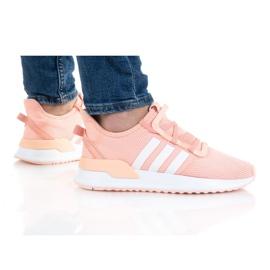 Buty adidas U_Path Run Jr FX5068 pomarańczowe różowe