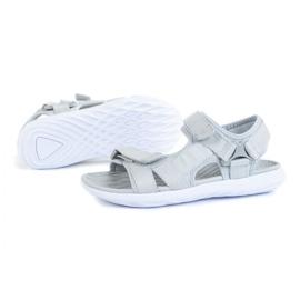 Sandały 4F W H4L21-SAD002 Szary szare
