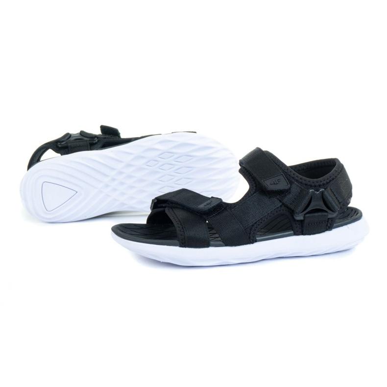 Sandały 4F W H4L21-SAD002 Czarny czarne