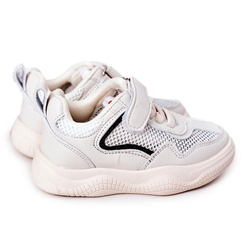Apawwa Dziecięce Sportowe Buty Sneakersy Beżowe Fun beżowy