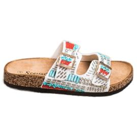 Seastar Klapki Z Koralikami Fashion wielokolorowe