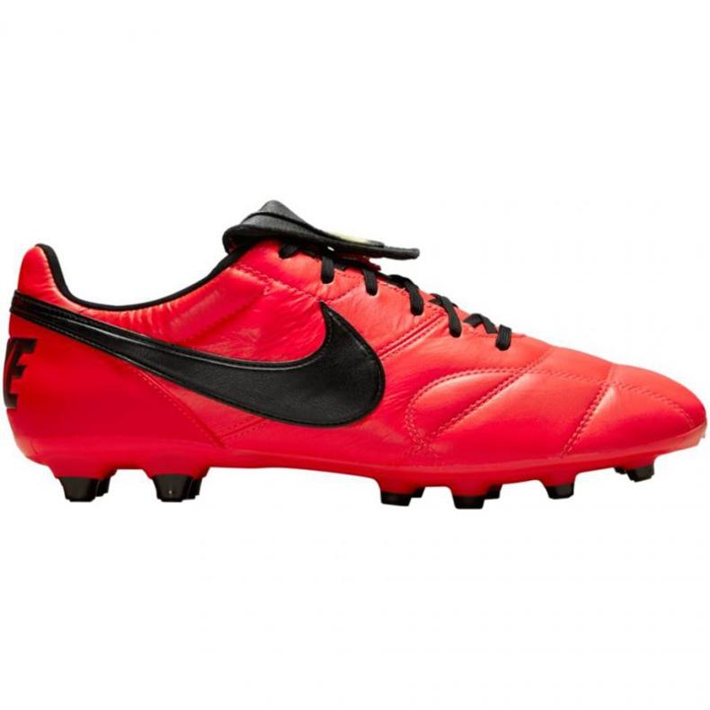 Buty piłkarskie Nike The Premier Ii Fg M 917803 607 czerwone czerwone