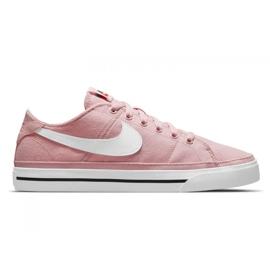 Buty Nike Court Legacy Canvas W CZ0294-601 różowe
