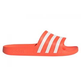 Klapki adidas Adilette Aqua W FY8096 pomarańczowe