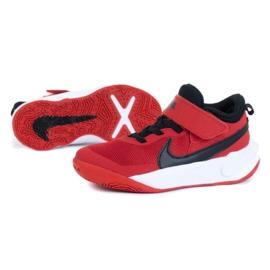 Buty Nike Team Hustle D 10 (PS) Jr CW6736-600 czerwone