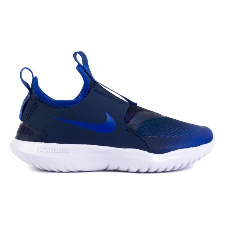 Buty Nike Flex Runner (PS) Jr AT4663-407 granatowe niebieskie