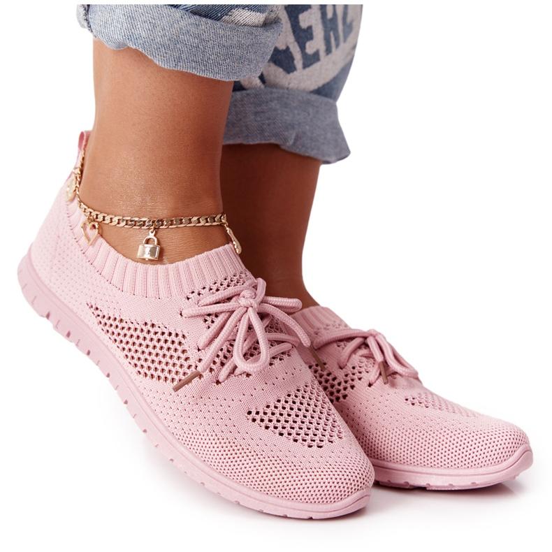PE1 Damskie Sportowe Buty Różowe Jenny