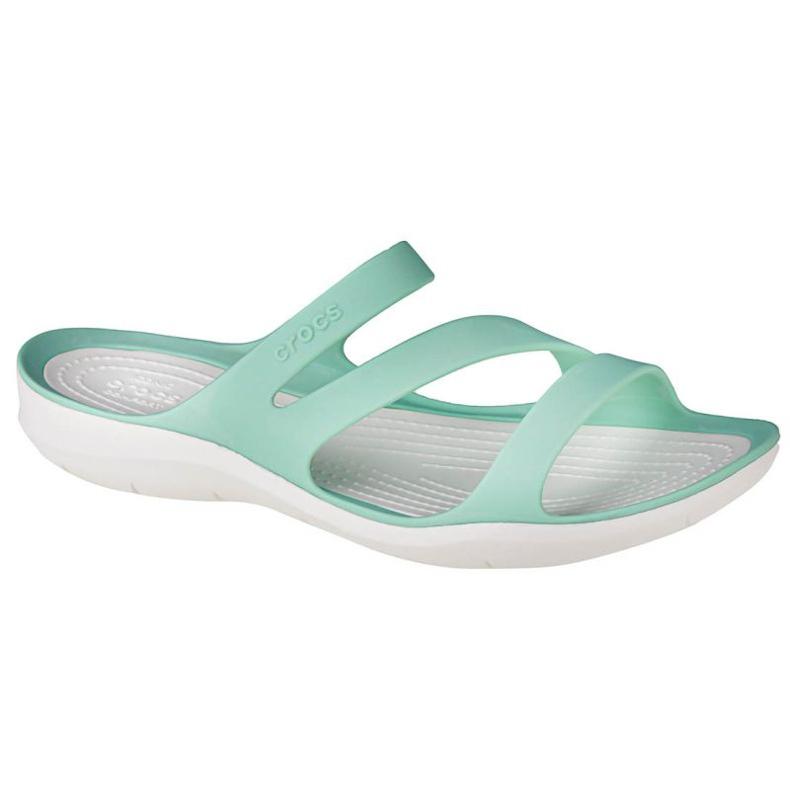 Klapki Crocs W Swiftwater Sandals 203998-3U3 niebieskie