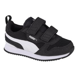 Buty Puma R78 V Infants 373618 01 czarne czerwone