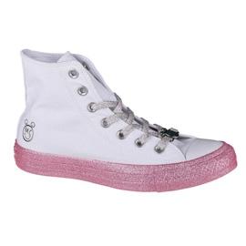 Buty Converse X Miley Cyrus Chuck Taylor Hi All Star W 162239C białe