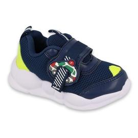 Befado obuwie dziecięce  516P094 granatowe