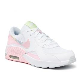 Buty Nike Air Max Excee Gs Jr CW5829-100 białe różowe