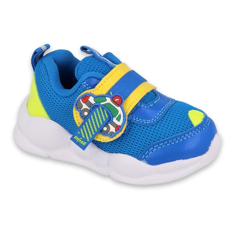 Befado obuwie dziecięce  516P093 niebieskie