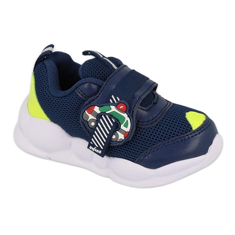 Befado obuwie dziecięce  516P094 granatowe zielone