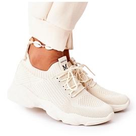 PS1 Damskie Sportowe Buty Sneakersy Beżowe Fashion beżowy
