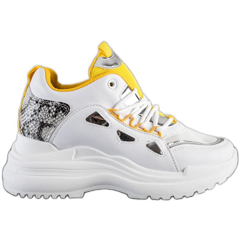 Marquiz Sneakersy Fashion białe