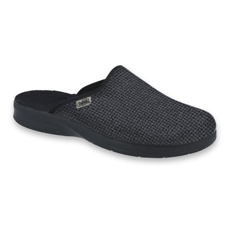 Befado obuwie męskie pu 548M026 czarne