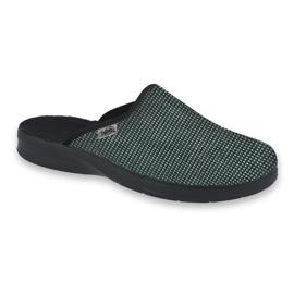 Befado obuwie męskie pu 548M025 czarne