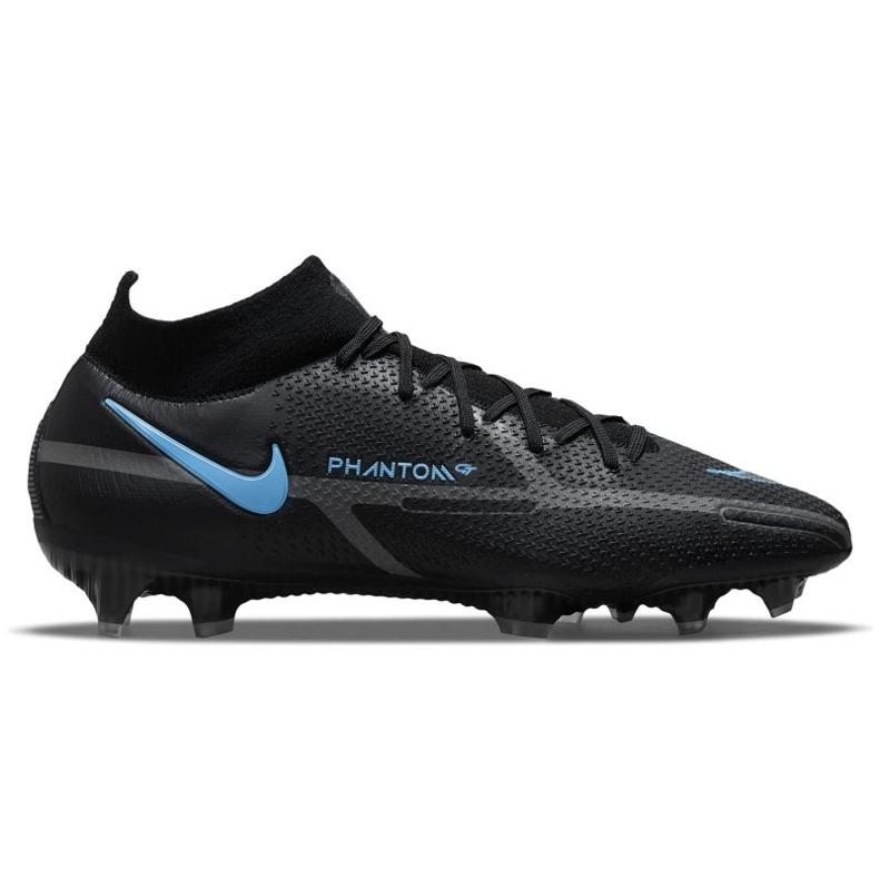 Buty piłkarskie Nike Phantom GT2 Elite Df Fg M CZ9889-004 czarne czarne