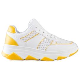 SHELOVET Casualowe Buty Sportowe białe