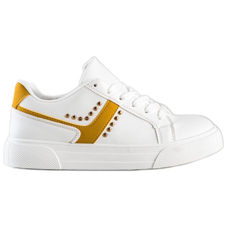 SHELOVET Casualowe Białe Buty Sportowe