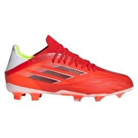 Buty piłkarskie adidas X Speedflow.1 Fg Jr FY3284 czerwone czerwone
