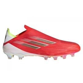 Buty piłkarskie adidas X Speedflow+ Ag M FY6872 czerwone czerwony, pomarańczowy, white
