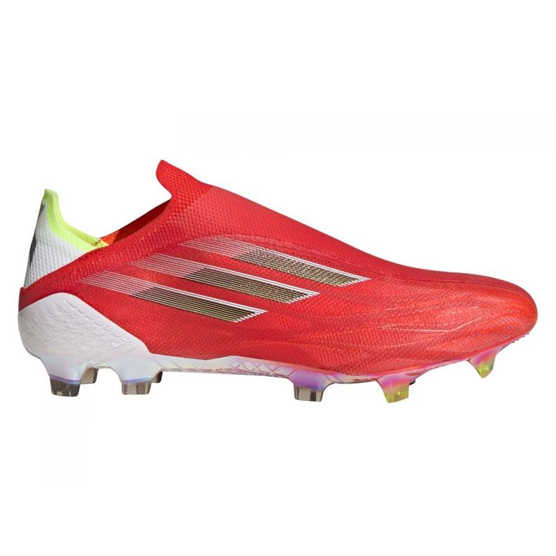 Buty piłkarskie adidas X Speedflow+ Fg M FY3338 czerwone czerwone