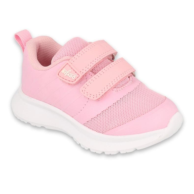 Befado obuwie dziecięce  516P085 różowe