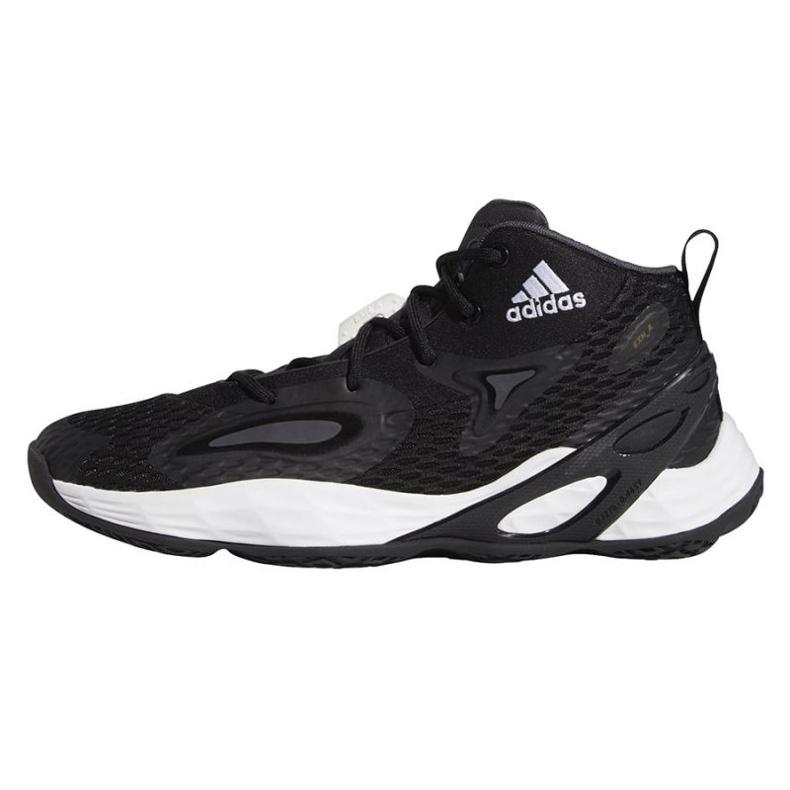 Buty do koszykówki adidas Exhibit A Mid M H67747 czarne czarne