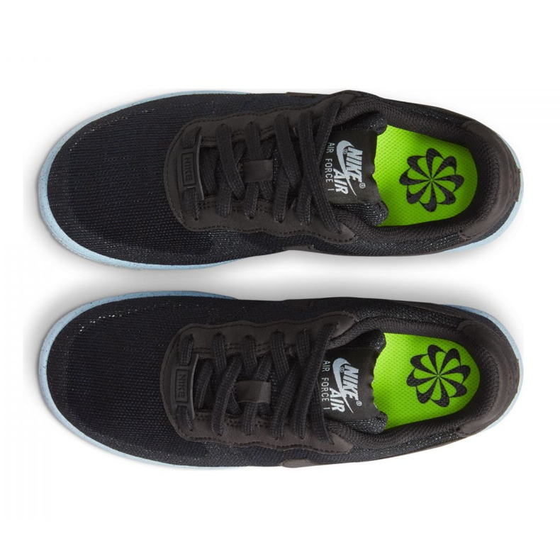 Buty Nike Air Force 1 Crater Flyknit Jr DH3375-001 czarne