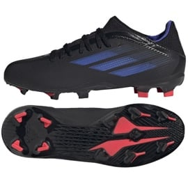 Buty piłkarskie adidas X Speedflow.3 Fg Jr FY3306 czarne czarne