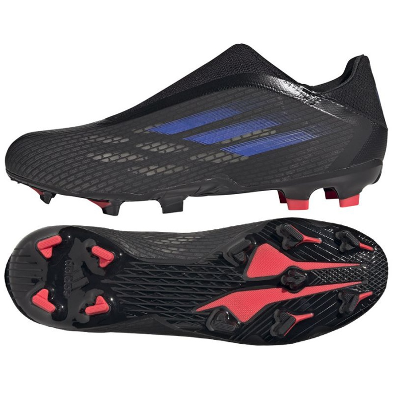 Buty piłkarskie adidas X Speedflow.3 Ll Fg M FY3273 czarne czarne