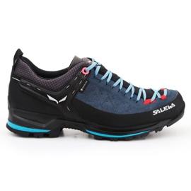 Buty trekkingowe Salewa Ws Mtn Trainer 2 Gtx W 61358-8679 czarne niebieskie