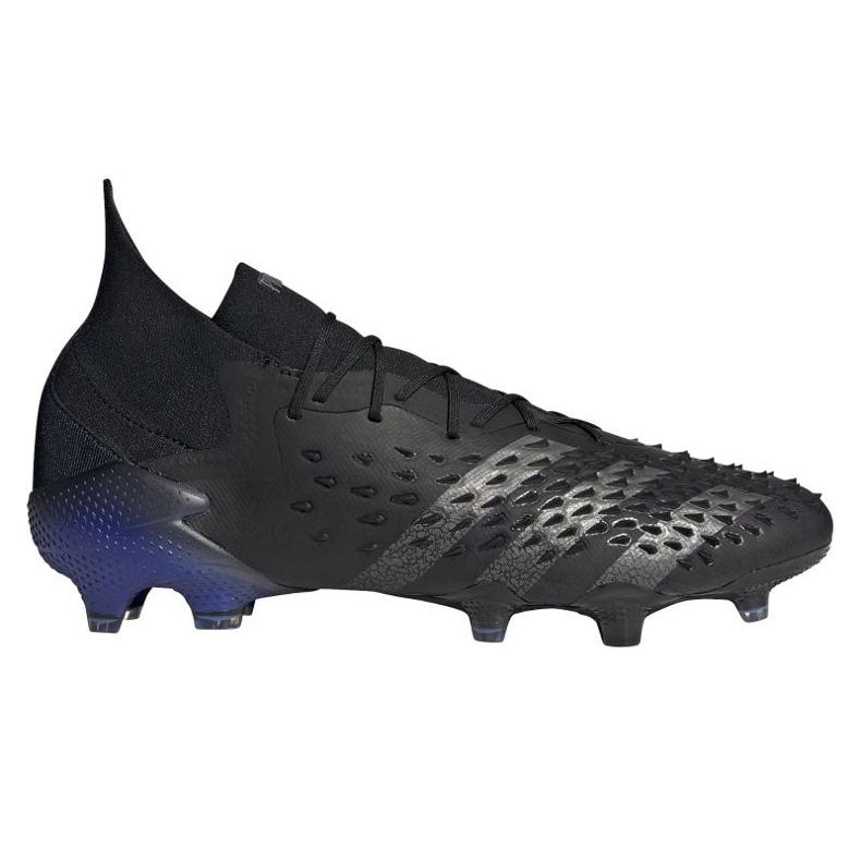 Buty piłkarskie adidas Predator Freak.1 Fg M FY6257 czarne czarne