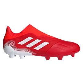 Buty piłkarskie adidas Copa Sense.3 Ll Fg M FY6172 wielokolorowe czerwone